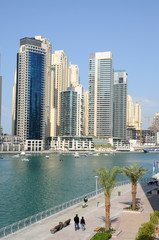 View of Dubai Marina, United Arab Emirates