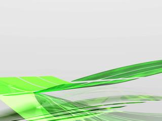 Sfondo astratto 3d verde