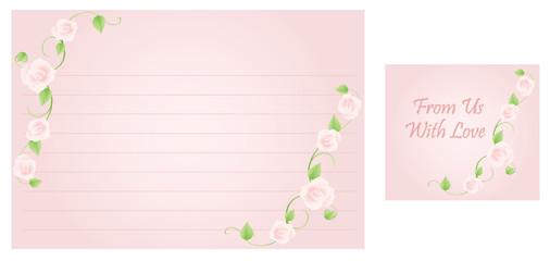 Wedding Recipe Card