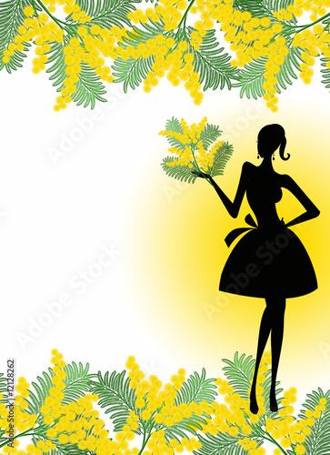Festa della donna immagini e fotografie royalty free su for Scarica clipart