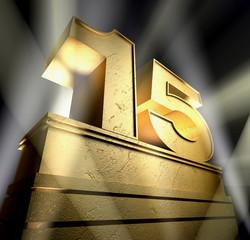 15 celebration