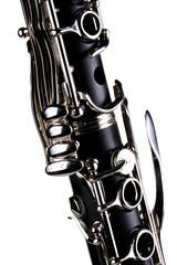 clarinet on white