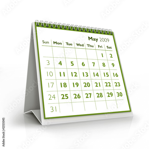 2009 Calendar May Stock Photo And Royalty Free Images On Fotolia