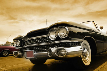 Acrylic Prints Old cars Classic Cars