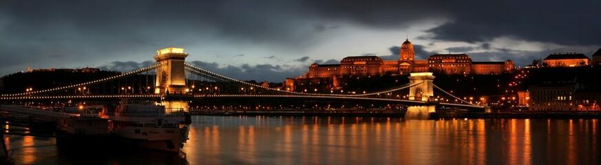 Aluminium Prints Budapest Budapest panorama