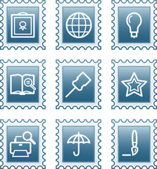 Postage stamp set 9