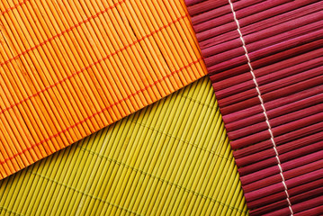 bamboo mats, abstract background