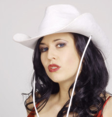 Pin-up Cowgirl