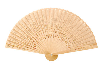 chinese fan isolated