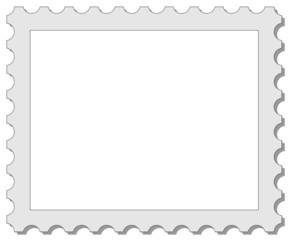 Briefmarke Rahmen