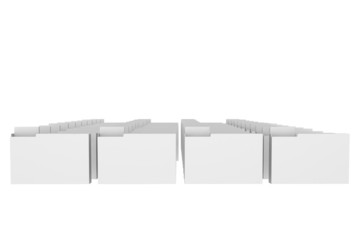 A number of the isolated folders