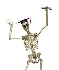 Skeleton Graduate