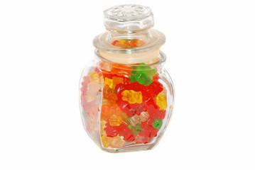 Bears in the jar.
