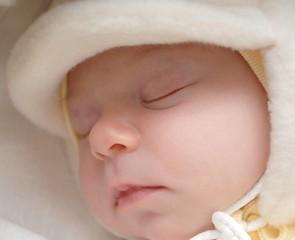 bébé couchant