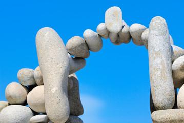 The bridge from stones