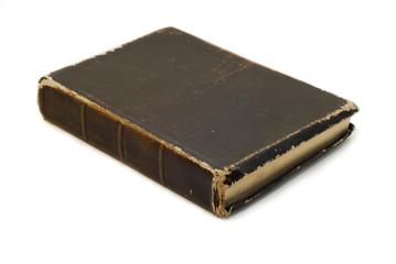 black old book