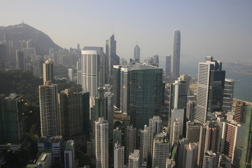 Hongkong (Hong Kong), China - Skyline