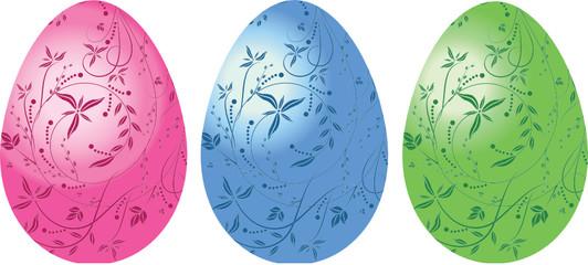 Color eggs