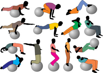 Wall Mural - GYM ADULTE 2
