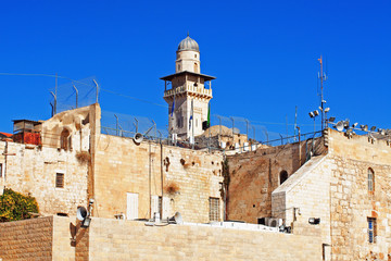 Israel. The Arabian Quarter Of Jerusalem