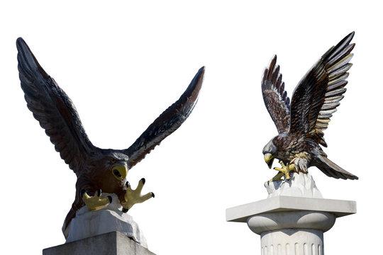 statue aigle
