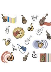Fresh Icons - Music Instruments