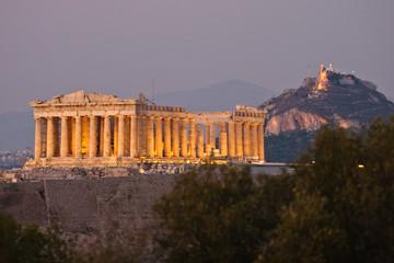 Akropolisbeleuchtung