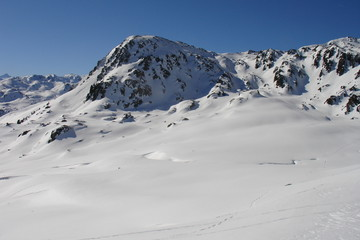 Alpine Winterlandschaft