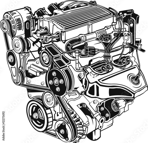 Automotive Engine Stock Image And Royalty Free Vector Files On