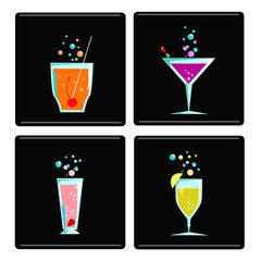4 cocktails.svg