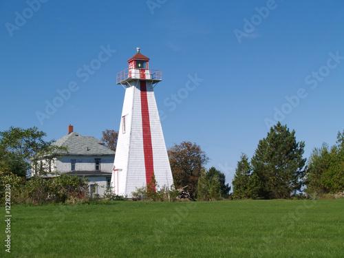 Wall mural Prince Edward Island Lighthouse