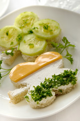 Irish Clover Sandwich