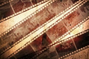 old grunge negative films background
