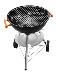 Round barbecue appliance