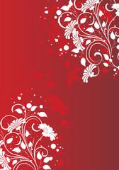 fond fluo rouge grenad