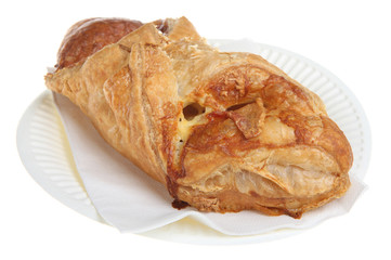 Bacon & Cheese Pastry Turnover
