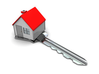 house on key