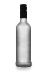 iced bottle of vodka