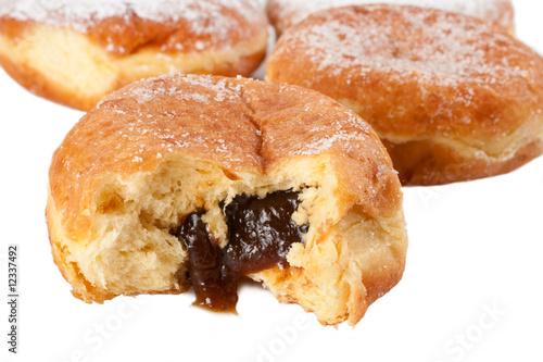 Пончики с начинкой рецепт с фото