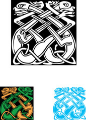 Celtic symbol, great for tatoo or shirt print.