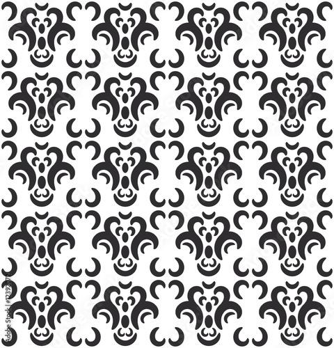tapete mit retro muster stockfotos und lizenzfreie vektoren auf bild 12392072. Black Bedroom Furniture Sets. Home Design Ideas