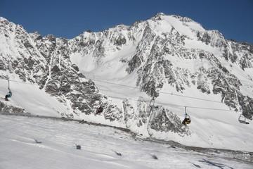 Ski Piste Alps Austria