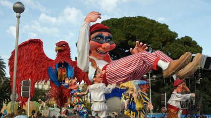 Printed kitchen splashbacks Carnaval carnaval de nice