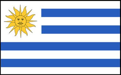 Fahne: Uruguay/ flag: Uruguay