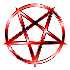 Pentagram - Red