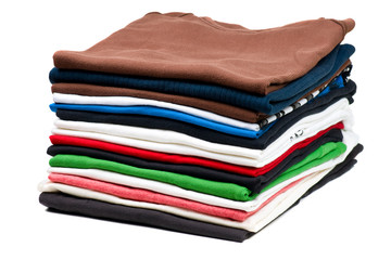 Pile of T-Shirts