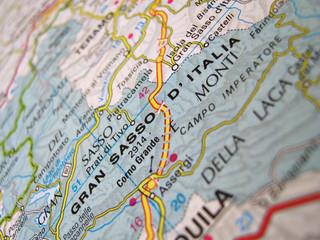 Cartina Gran Sasso