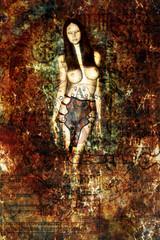 undead queen painting