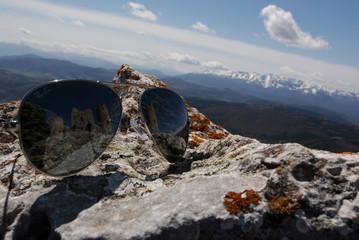 Occhiali in Montagna