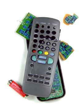 Smashed TV Remote